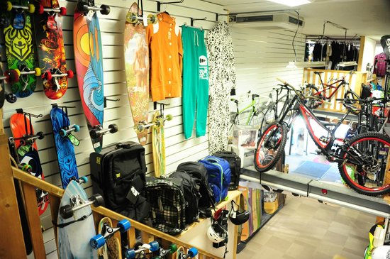Zero G Board & Bike Shop : shop