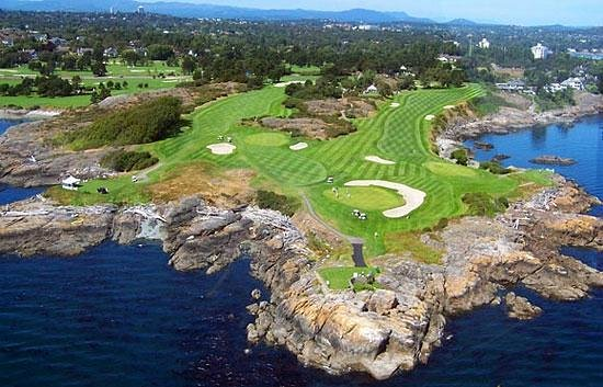 Victoria Golf Club: Aerial