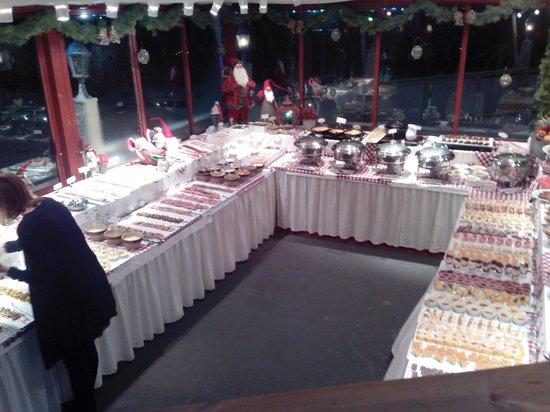 Villa Godthem: Il buffet del julbord