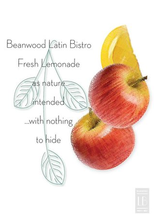 Beanwood Latin Bistro: Apples&Lemons Fresh Lemonade and nothing else