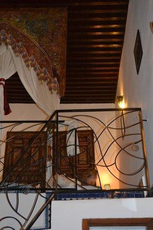 Riad La Cle de Fes: mezzanine bedroom