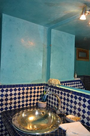 Riad La Cle de Fes : bathroom