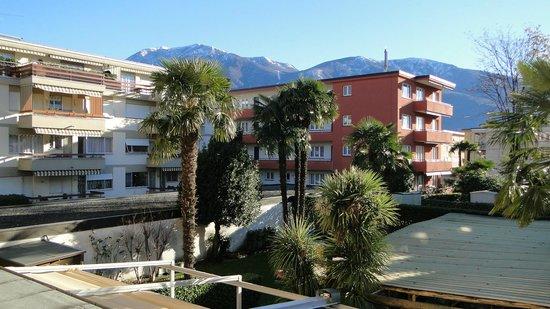 Osteria Ticino : Blick vom Balkon