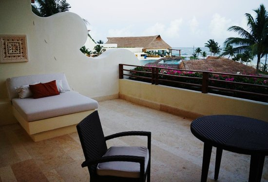 Grand Velas Riviera Maya: Great patio