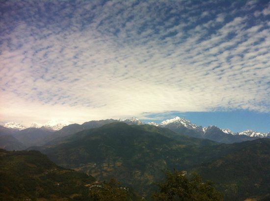 Tashigang Resort : View from the room