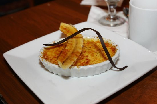 Kona Cafe: Banana-Chocolate Creme Brulee