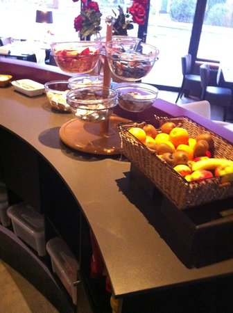 Hotel PTC Plus : Ontbijt