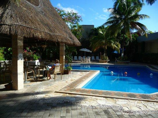 Hotel Plaza Caribe: Piscine