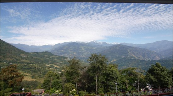 Tashigang Resort : View from the room 2