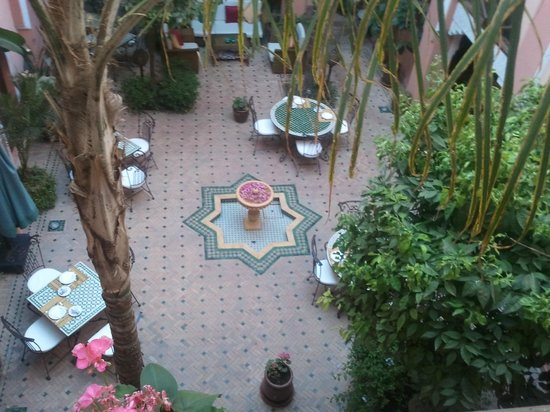 Riad Amina : Le patio