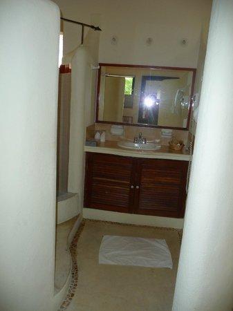 Aventura Mexicana : Salle de bain / WC sans porte et sans porte-manteaux