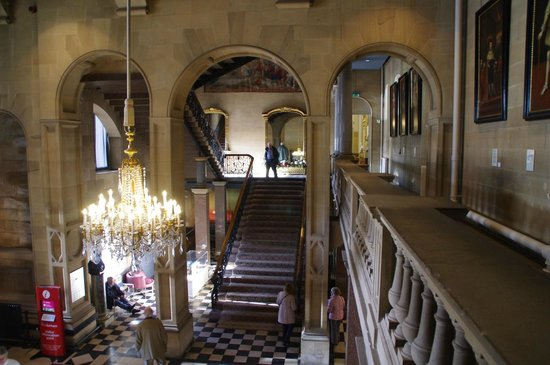 The Bowes Museum: The staircase
