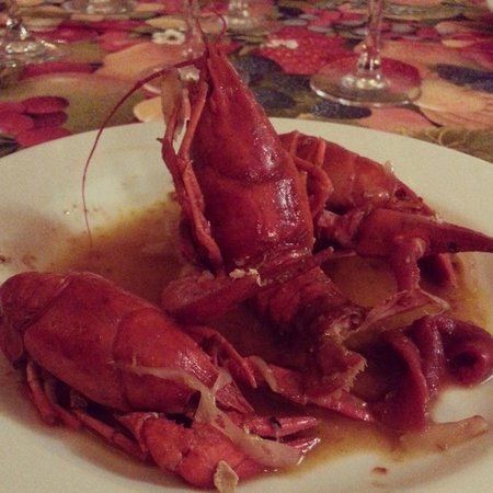 Chateau du Beugnon : Fresh caught by my husband and daughter