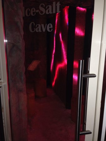 Hotel Gdańsk Boutique : Salt cave.... Perfect after a sauna to cool down in!