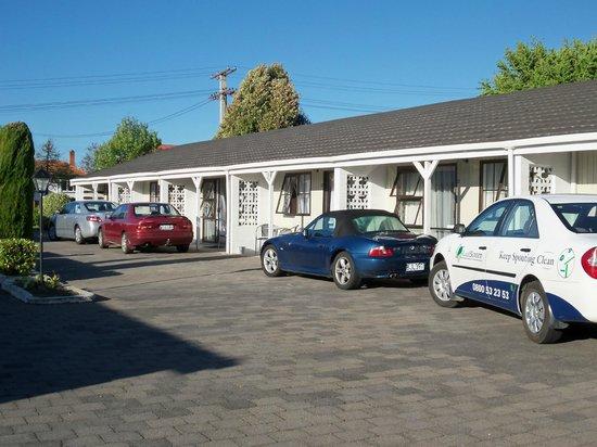 Rosetown Motel: Basking in afternoon sunshine
