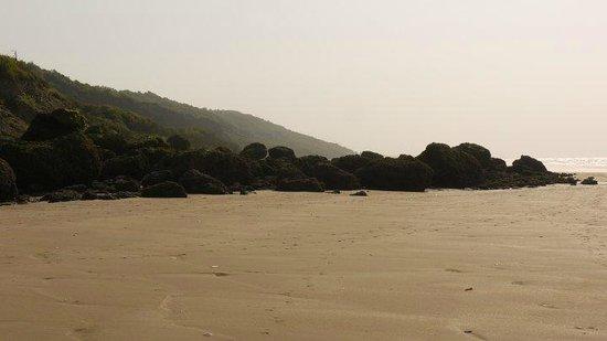 Falaise des Vaches Noires : At the beach