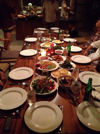 RedDoor Bali : Most amazing meals prepared: breakfast, lunch and dinner