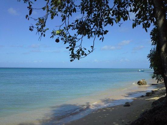 Village de Menard: plage de Capesterre