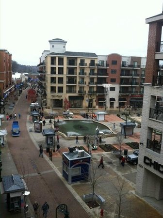 Hilton Promenade at Branson Landing: View from our balcony in the South Tower.