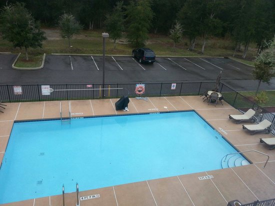 Microtel Inn & Suites by Wyndham Jacksonville Airport: Pool view