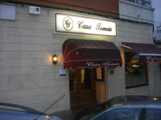 Restaurante Casa Tomas : Puerta Principal