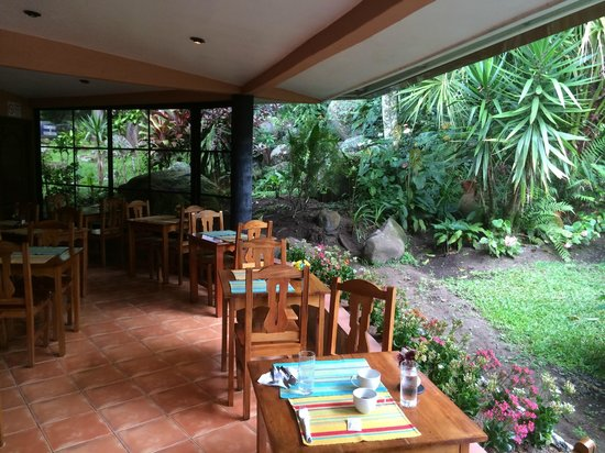 Boquete Garden Inn - Breakfast View
