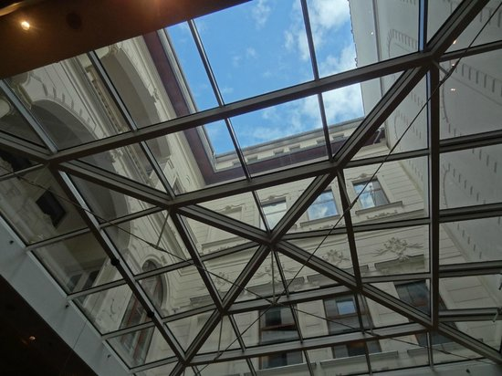 Hotel Palazzo Zichy : Salle Petit déjeuner