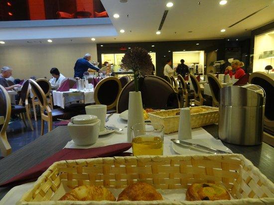 Hotel Palazzo Zichy : Petit déjeuner