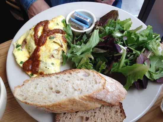 Le Pain Quotidien : Omelettes!