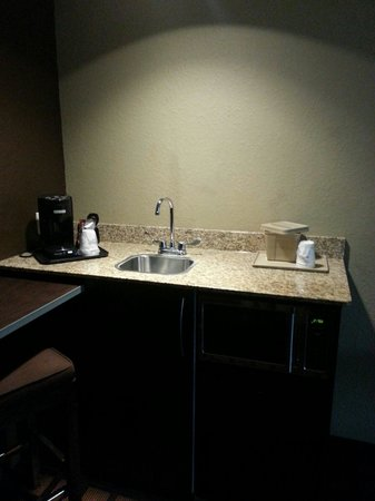 Microtel Inn & Suites by Wyndham Jacksonville Airport: Granite...yes