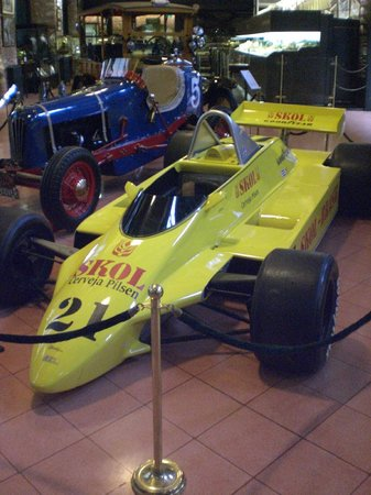 Le musée Rahmi M. Koç : Ein Fittipaldi, Fahrer Keke Rosberg
