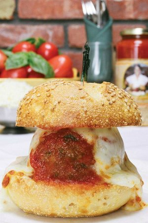 Mamma Lombardi's Restaurant: Meatball Parm at Mamma Lombardi's