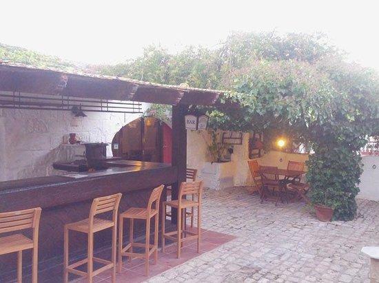 Matchani Gran: zona de bar exterior, en veranito se estará a gusto