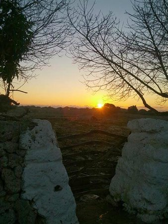 Matchani Gran: salida del sol desde la parte trasera