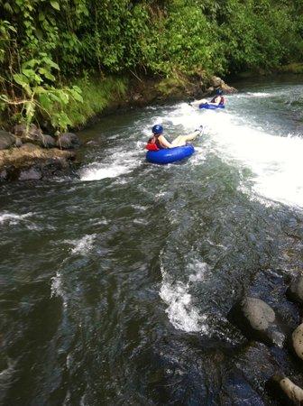 Arenal River Tubing & Hiking