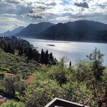 Villa Emma Malcesine: Panorama dalla camera