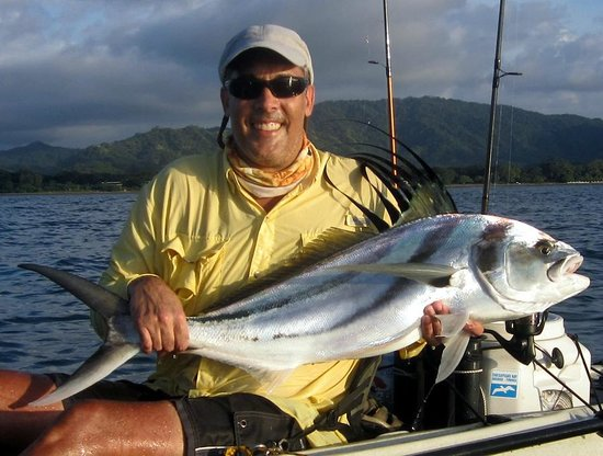 Bahia del Sol Beach Front Boutique Hotel : My second Costa Rican Roosterfish, about a mile in front of the hotel