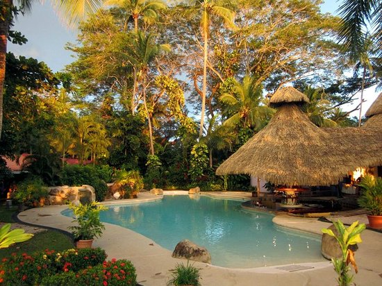 Bahia del Sol Beach Front Boutique Hotel : The beautiful pool and bar