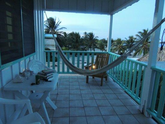 Seaspray Hotel: Balcón al atardecer