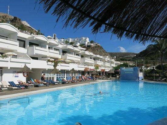 Portonovo Apartments: The apartments and pool