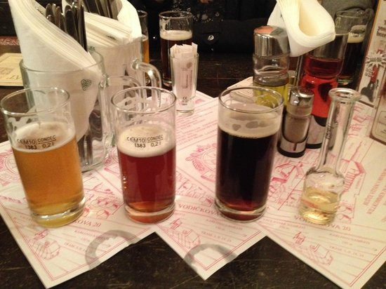 "Beer Prague - walking brewery tours: ""Pivovice"" -  the beer spirit at the end"