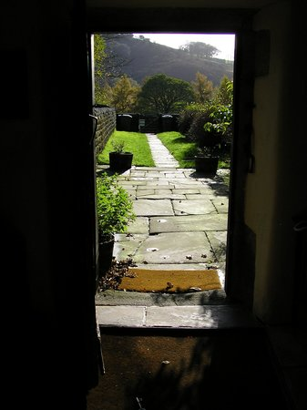 North Lees Hall: View from the front door