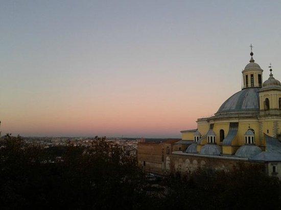 HRC Hotel: panorama di Madrid dalla camera
