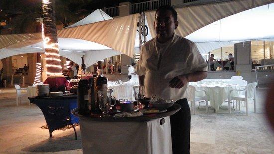 Cozumel Palace: Alejandro  making coffee