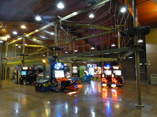 Loveland Laser Tag: BRAND NEW Pyramid Skytrail ropes course