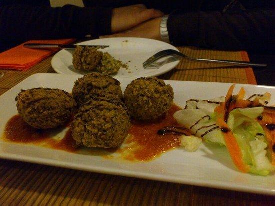 Vegetarian El Calafate: Falafel de lentejas