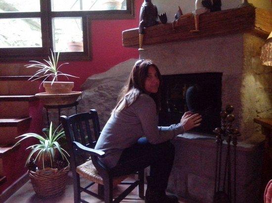 Casa del Infanzon : chimenea