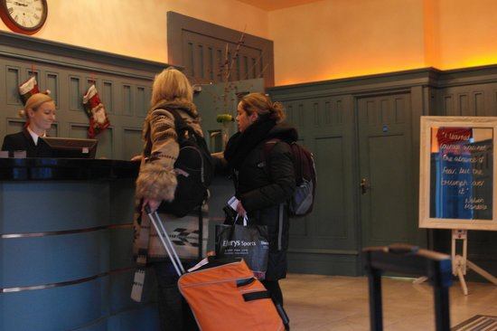 Forster Court Hotel: Checkout time!