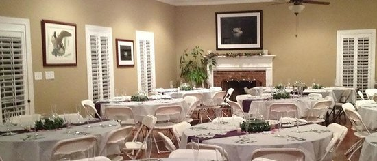 The Inn at Rosehill & Rosehill Stables: Rosehill Lodge, the event center set up for a wedding