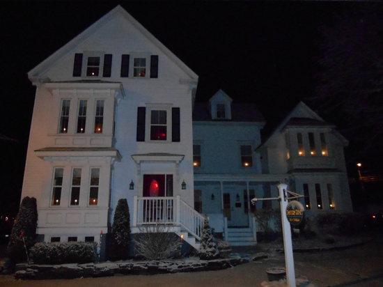 Bayberry House Bed & Breakfast: A Winter Wonderland